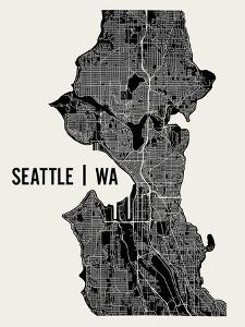 Seattle by Mr City Printing
