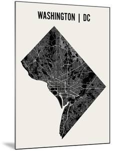 Washington DC by Mr City Printing