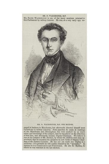 Mr D Waddington, Mp for Maldon--Giclee Print
