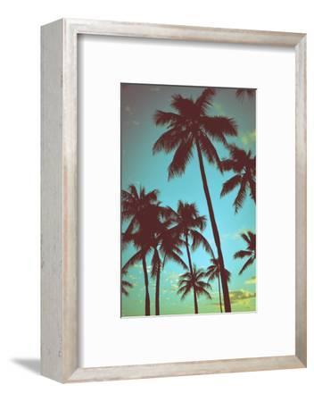 Vintage Tropical Palms