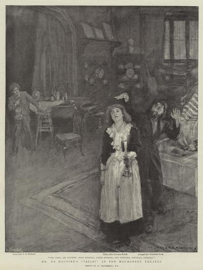Mr Du Maurier's Trilby at the Haymarket Theatre-William Hatherell-Giclee Print