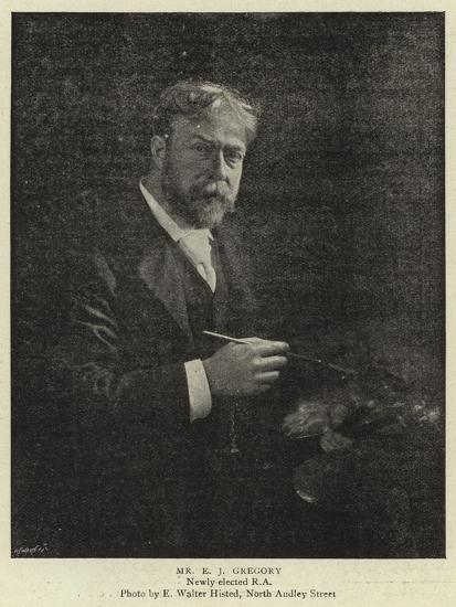 Mr E J Gregory--Giclee Print