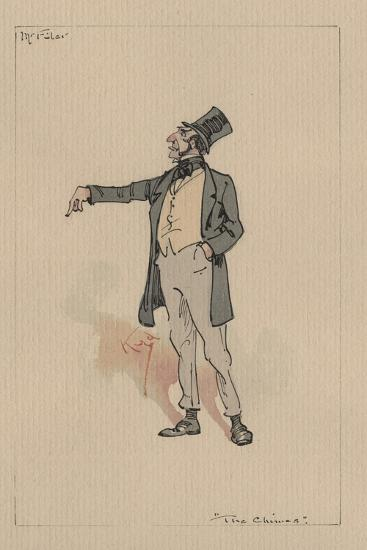 Mr Filer - the Chimes, C.1920s-Joseph Clayton Clarke-Giclee Print