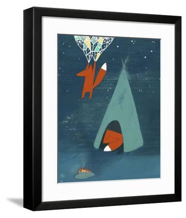 Mr. Fox's Brilliant New Ideas-Kristiana P?rn-Framed Art Print