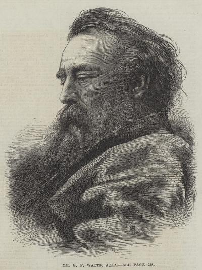 Mr G F Watts--Giclee Print