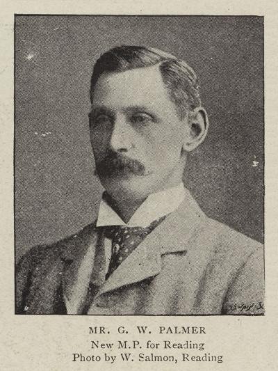 Mr G W Palmer--Giclee Print