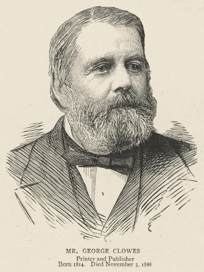 Mr George Clowes--Giclee Print