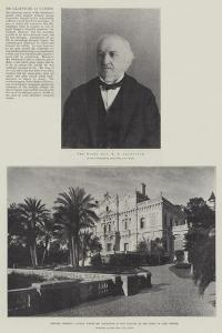 Mr Gladstone at Cannes