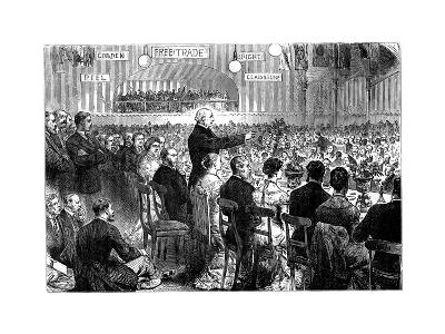 Mr Gladstone at Leeds, Late 19th Century--Giclee Print