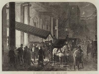 Mr Gladstone's Ministerial Dinner, Arrival of Guests--Giclee Print