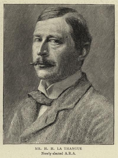 Mr H H La Thangue--Giclee Print