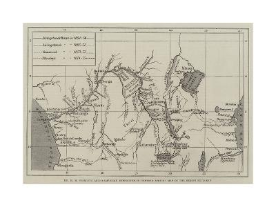 Mr H M Stanley's Anglo-American Expedition for the Exploration of Central Africa--Giclee Print