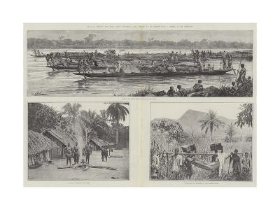 Mr H M Stanley's Emin Pasha Relief Expedition--Giclee Print
