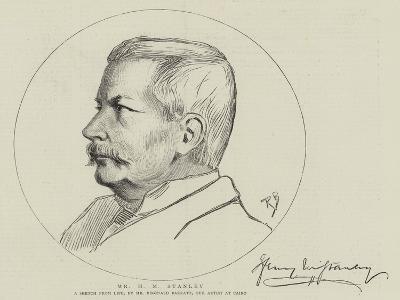 Mr H M Stanley-Reginald Barratt-Giclee Print