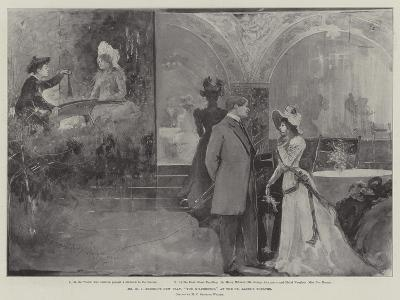Mr H V Esmond's New Play, The Wilderness, at the St James's Theatre-Henry Charles Seppings Wright-Giclee Print