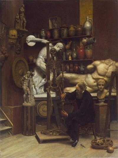 Mr Heatherley's Holiday: an Incident in Studio Life-Samuel Butler-Giclee Print