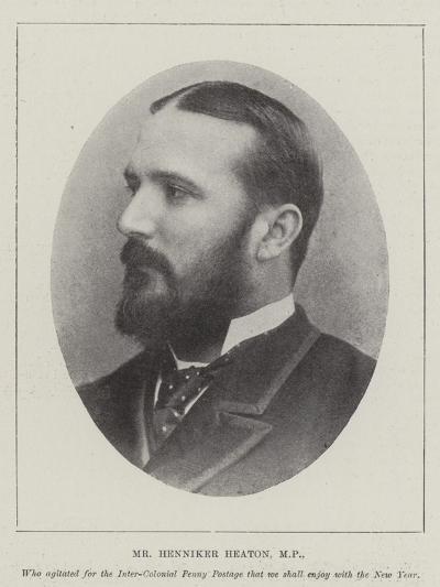 Mr Henniker Heaton--Giclee Print