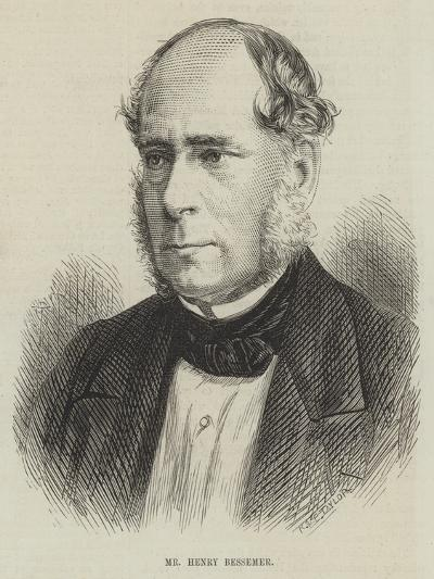 Mr Henry Bessemer--Giclee Print