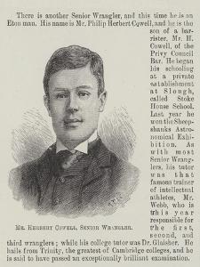 Mr Herbert Cowell, Senior Wrangler