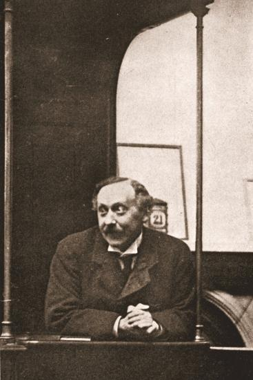 Mr Herbert Gladstone in the Witness-Box at the Trial of Emmeline Pankhurst and Others, 1908--Photographic Print