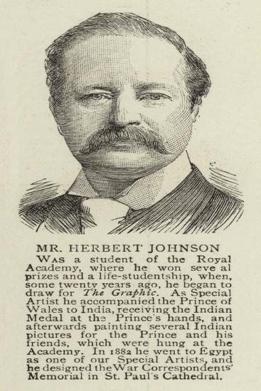 Mr Herbert Johnson--Giclee Print