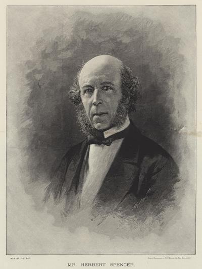 Mr Herbert Spencer--Giclee Print