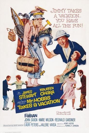 Mr. Hobbs Takes a Vacation--Art Print