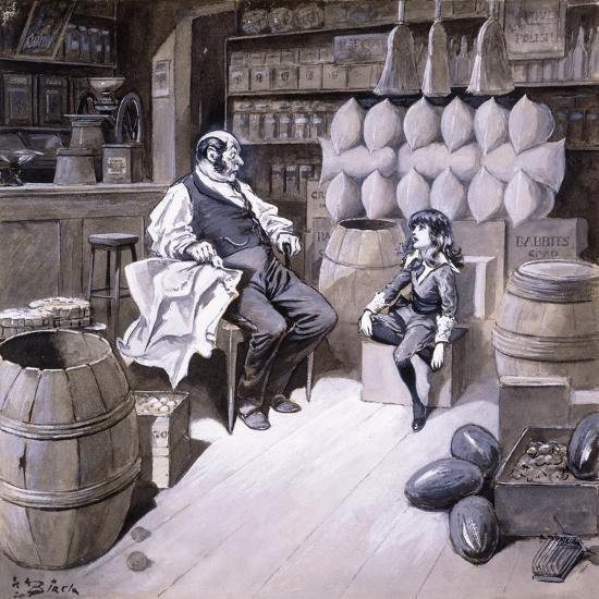 Mr. Hobbs-Reginald Bathurst Birch-Giclee Print