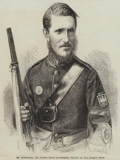 Mr Humphries, 6th Surrey Rifle Volunteers, Winner of the Queen's Prize--Giclee Print