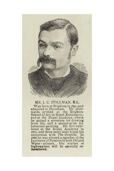 Mr J C Dollman--Giclee Print