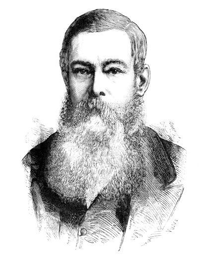 'Mr. J. H. Brand, President of the Orange Free State', c1880-Unknown-Giclee Print