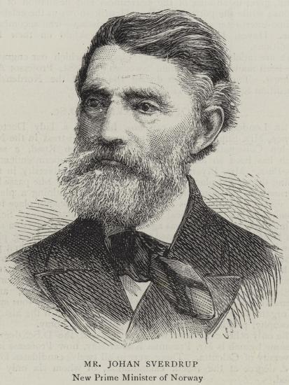 Mr Johan Sverdrup--Giclee Print