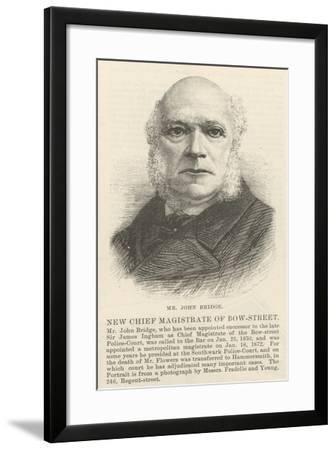 Mr John Bridge--Framed Giclee Print