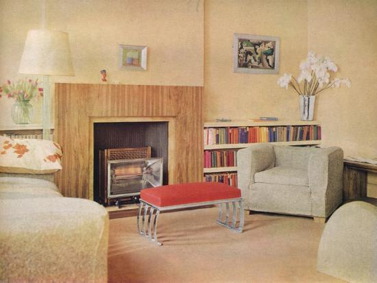 'Mr John Duncan Miller's flat', 1932-Unknown-Photographic Print