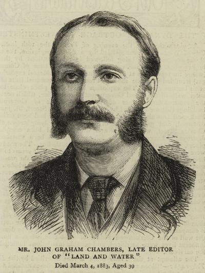 Mr John Graham Chambers, Late Editor of Land and Water--Giclee Print