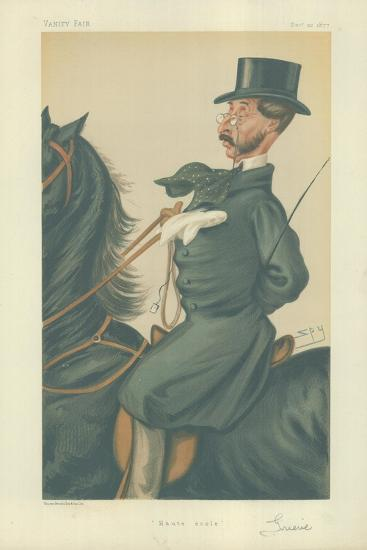 Mr John Mackenzie Grieve-Sir Leslie Ward-Giclee Print
