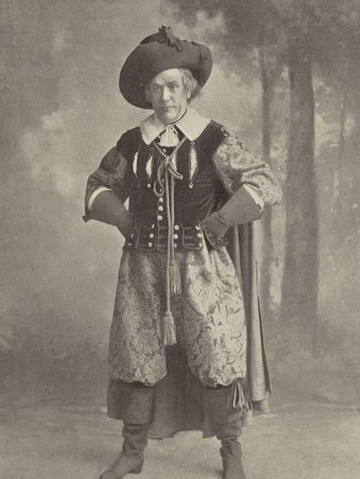 "Mr Lionel Brough: a Reminiscence of ""La Cigale""--Photographic Print"