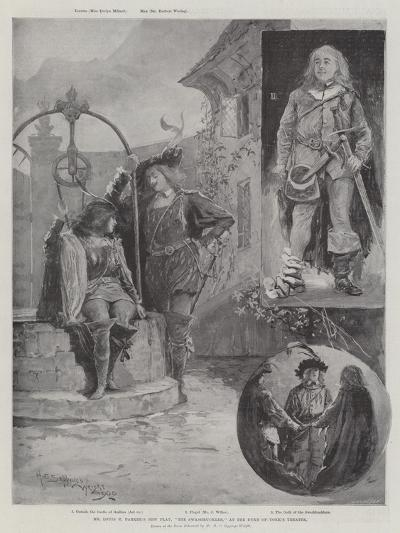 Mr Louis N Parker's New Play, The Swashbuckler, at the Duke of York's Theatre-Henry Charles Seppings Wright-Giclee Print