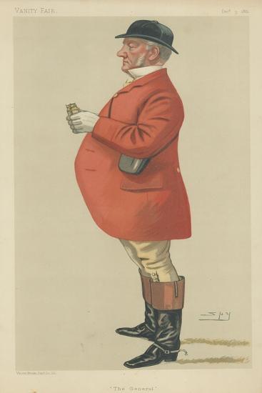 Mr Mordaunt Fenwick-Bisset-Sir Leslie Ward-Giclee Print
