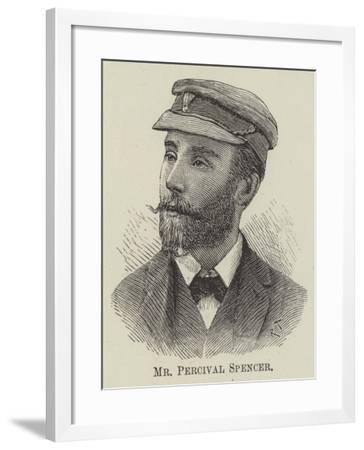 Mr Percival Spencer--Framed Giclee Print