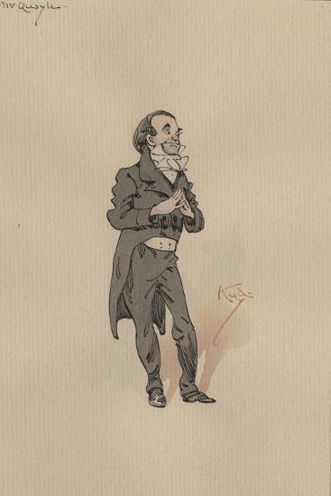 Mr Quayle, C.1920s-Joseph Clayton Clarke-Giclee Print