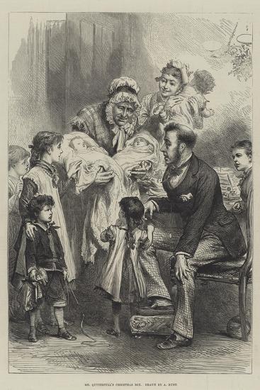 Mr Quiverfull's Christmas Box--Giclee Print