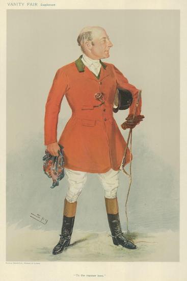 Mr Reginald Corbet-Sir Leslie Ward-Giclee Print