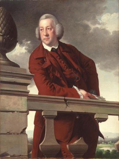 Mr. Robert Gwillym, 1766-Joseph Wright of Derby-Giclee Print