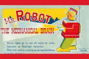 Mr. Robot: the Mechanical Brain