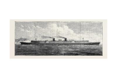 Mr. S.J. Mackie's Steamer: a Ship 400 Feet Long by 80 Feet Broad--Giclee Print