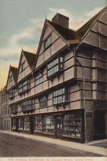 Mr Sapsea's House, Edwin Drood--Photographic Print