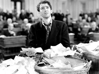 Mr. Smith Goes to Washington, James Stewart, 1939--Photo