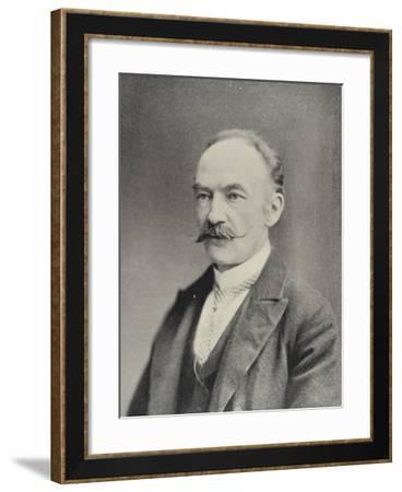 Mr Thomas Hardy--Framed Photographic Print