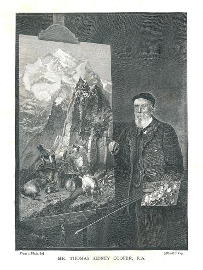 Mr Thomas Sidney Cooper R.A, 1894--Giclee Print
